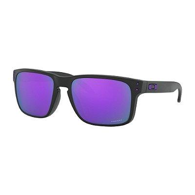 Óculos de Sol Oakley Holbrook Matte Black W/ Prizm Violet