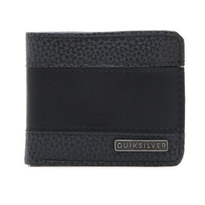 Carteira Quiksilver Supply Slim IV Preto