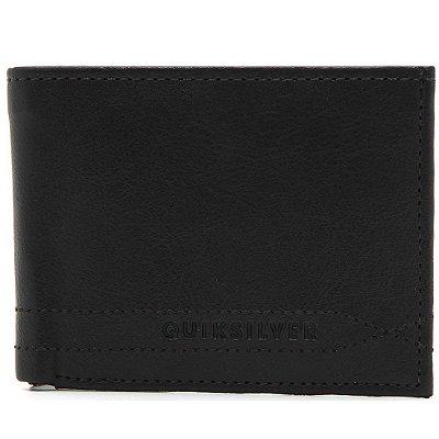 Carteira Quiksilver Stitchy Wallet V Preto