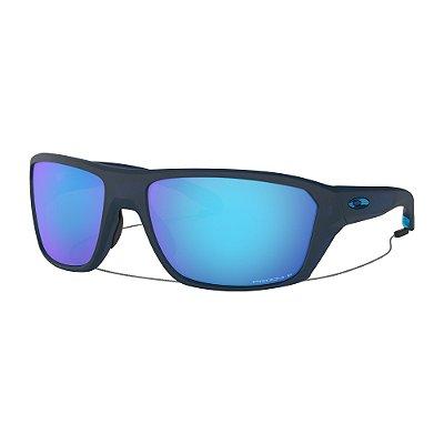 Óculos de Sol Oakley Split Shot Matte Translucent Blue W/ Prizm Sapphire Polarized