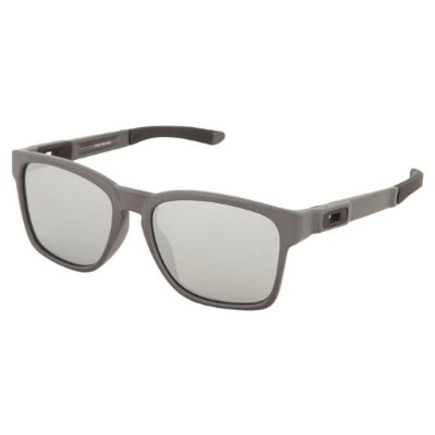 Óculos de Sol Oakley Catalyst Steel W/ Chrome Iridium