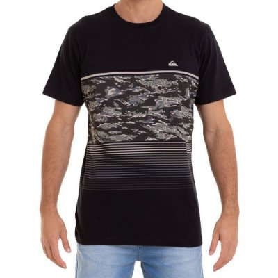 Camiseta Quiksilver Psyco Preto