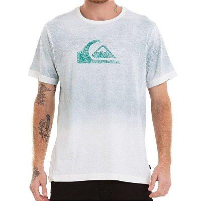Camiseta Quiksilver Especial Degra Logo Verde