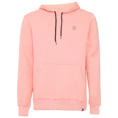 Moletom Element Fechado Outiline Chest Logo Rosa
