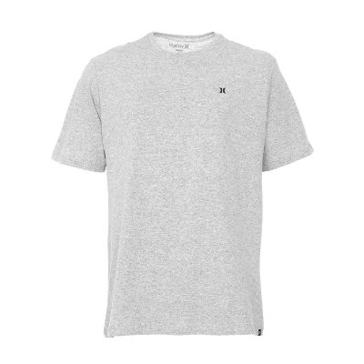 Camiseta Hurley Silk Mini Icon Cinza Claro