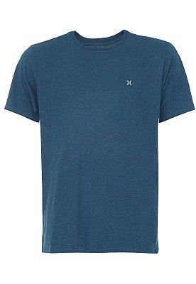 Camiseta Hurley Silk Mini Icon Azul Marinho Mescla