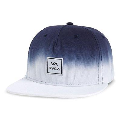 Boné RVCA Aba Reta Snap Dip Class R Branco/Azul