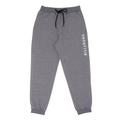 Calça Billabong Moletom Confort Billa Cinza
