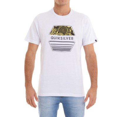 Camiseta Quiksilver Drift Away Branco