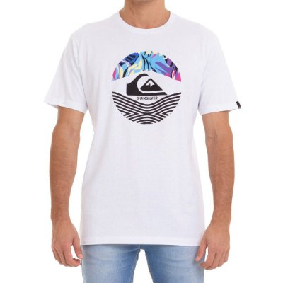 Camiseta Quiksilver On Filter Branco