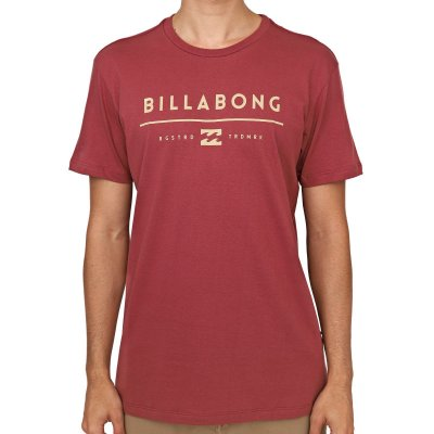 Camiseta Billabong Unity Rosa Escuro