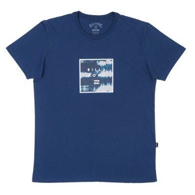 Camiseta Billabong Stacked Fill Azul Escuro