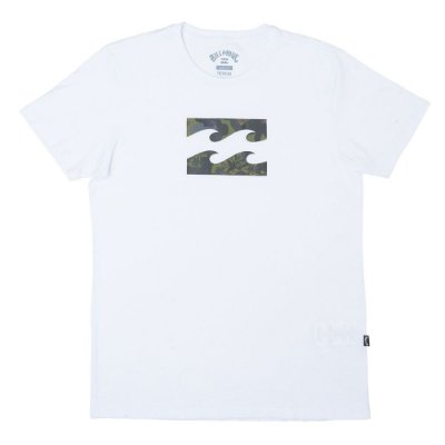 Camiseta Billabong Team Wave II Branco