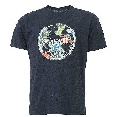 Camiseta Hurley Silk Crush Masculina Cinza Escuro