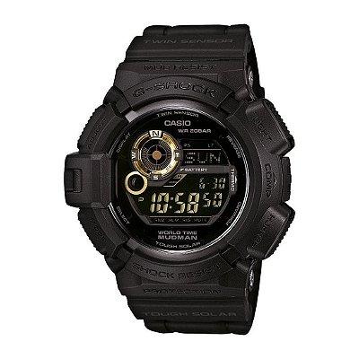 Relógio G-Shock Mudman G-9300GB-1DR Masculino Preto