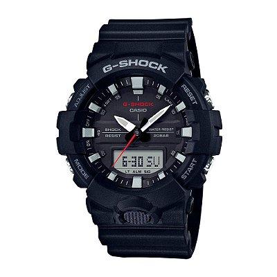 Relógio G-Shock GA-800-1ADR Masculino Preto