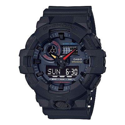 Relógio G-Shock GA-700BMC-1ADR Masculino Preto
