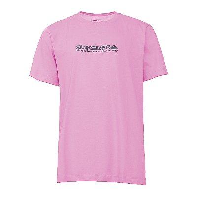 Camiseta Quiksilver Iconic Rosa