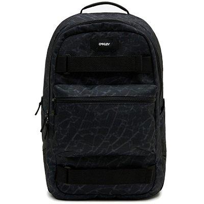 Mochila Oakley Street Skate Backpack Preto/Cinza