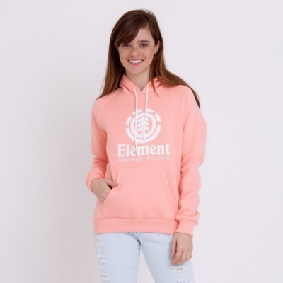 Moletom Element Vertical Oli Feminino Rosa