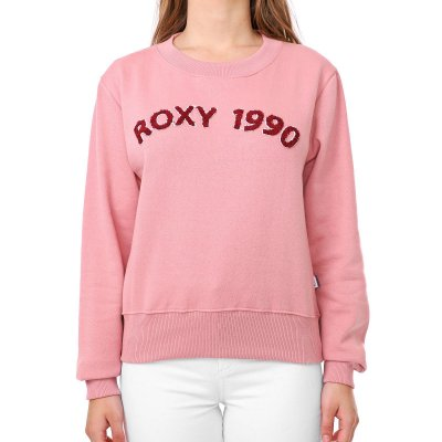 Moletom Roxy Careca Maybe Someday Feminino Rosa