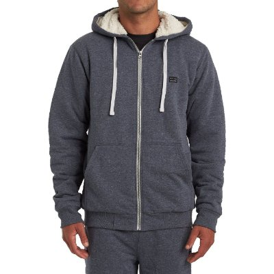Moletom Billabong Aberto All Day Sherpa Masculino Azul