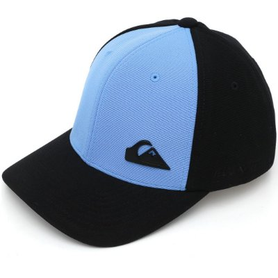 Boné Quiksilver Aba Curva Flex Plate Black Azul/Preto