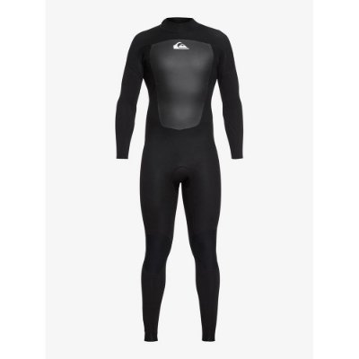 Wetsuit Long John Quiksilver 3/2mm Prologue Back Zip FLT Preto