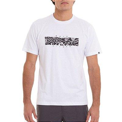 Camiseta Quiksilver Tripper Box Masculina Branco