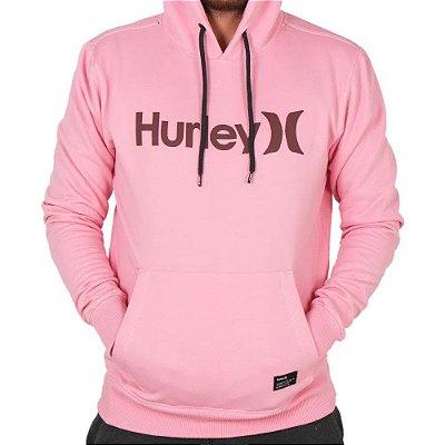 Moletom Hurley Fechado One&Only Masculino Rosa