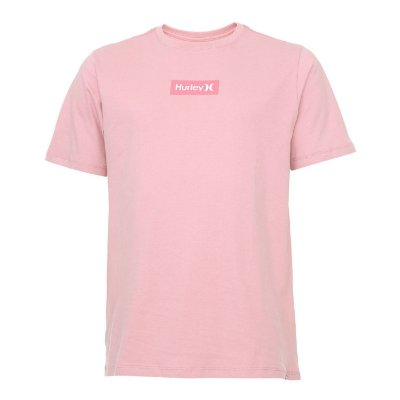 Camiseta Hurley Silk O&O Small Box Rosa