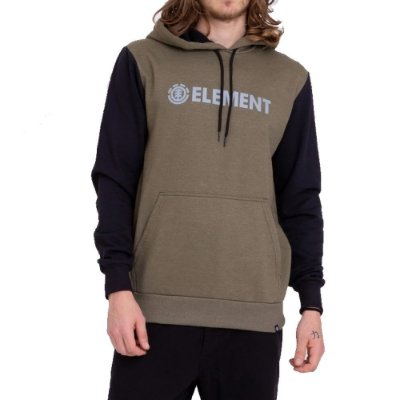 Moletom Element Fechado Simple Block Masculino Verde