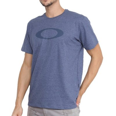 Camiseta Oakley O-Ellipse Masculina Azul Escuro