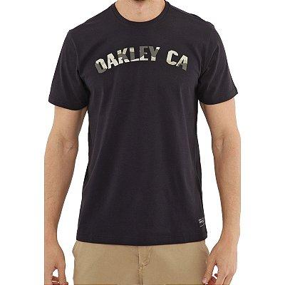 Camiseta Oakley O-Classic Camo SS Masculina Preto