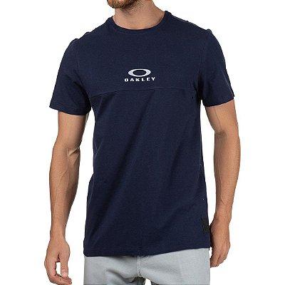 Camiseta Oakley Tractor Block SP Masculina Azul Marinho