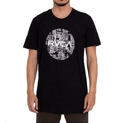 Camiseta RVCA Mundy Preto