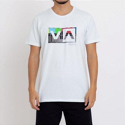 Camiseta RVCA Balance Box Verde Claro