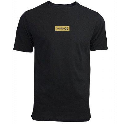 Camiseta Hurley Silk O&O Small Box Preto