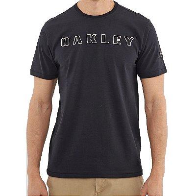 Camiseta Oakley Utilitary Bark Masculina Preto