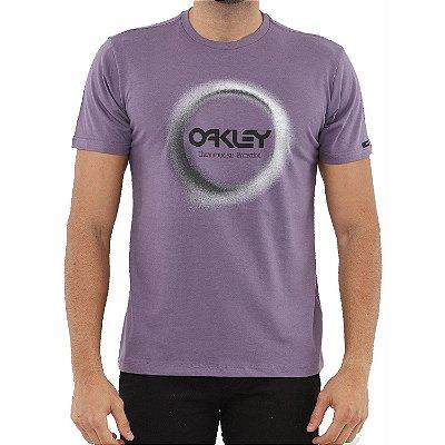 Camiseta Oakley Thermonuclear Aurea Masculina Roxa