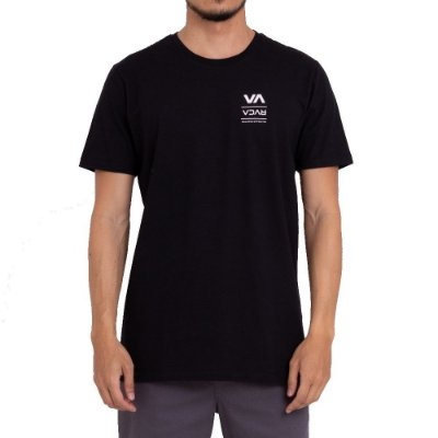 Camiseta RVCA Down The Line Masculina Preto
