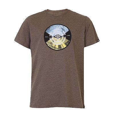 Camiseta Element Aiken Masculina Marrom
