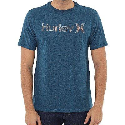 Camiseta Hurley Military Masculina Azul Marinho