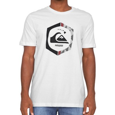 Camiseta Quiksilver Kahuku Masculina Branco