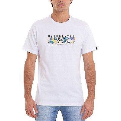 Camiseta Quiksilver Distant Fortune Masculina Branco