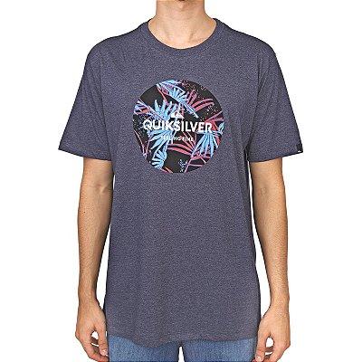 Camiseta Quiksilver Summers Ends Masculina Azul Marinho