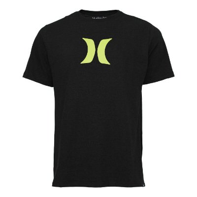 Camiseta Hurley Silk Icon Preto