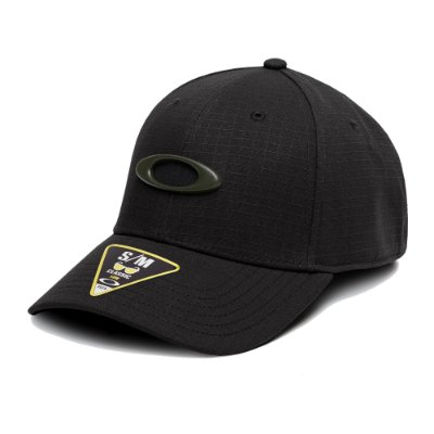 Boné Oakley Ellipse 6 Panel Hat Preto
