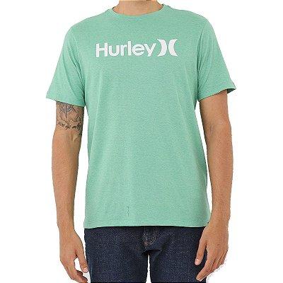 Camiseta Hurley O&O Solid Masculina Verde