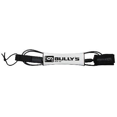Leash Bullys 6' Premium - 5mm Competição Preto